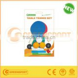 GSTTS1001 Mini table tennis or for kids rackets set