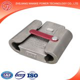 Factory wholesale WX-4 Self-locking C-Type wedge type parallel groove wire clamp