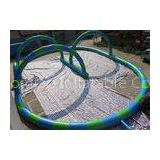 EN14960 Inflatable Bearing Sliding Human Zorb Ball Track For Sports Games