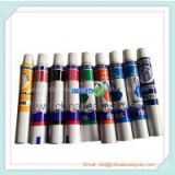 Pigment Packaging Soft Aluminum Tubes for Oil paints Watercolour Pen Painting Pen with Screw Caps 15ml~100ml