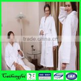China cheap cotton hotel luxury waffle bathrobe