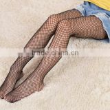 Girls Fashion Fishnet Black Pantyhose Summer Children Mesh Tights Ripped Jeans Thin Anti-Hook Stockings Net Grid Stockings
