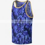 100% polyster all over sublimation sexy racer back tank tops wholesale