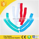 Disposable Hair nets/nonwoven clip cap/surgical caps colorful with CE