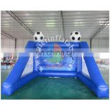 2016 Aier Hot inflatable sports game / inflatable soccer goal /inflatable football shooting goal for sale