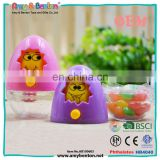 Hot Sale Turning Face Chick Promotion Candy Plastic Toys