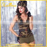 Whole 6piece suit camouflage lingerie import china costumes cosplay sex