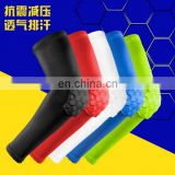 Strengthen Elbowpad Honeycomb elbow Pads Crashproof Antislip Basketball arm/elbow Sleeve Protective Pad#HB-FW0604