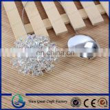 new model fashion decorative crystal magnetic curtain hook