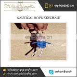 Buy Captivating Nautical Rope Keychain from Reliable Vendor of the Market