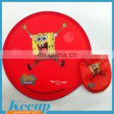 China Promotional Cheap 22mm fabric flying disc