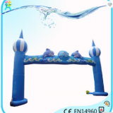 Cheap Castle Type Inflatable Arches For Sale