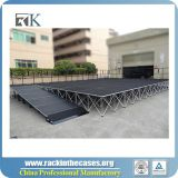 2018 Portable smart stage with carpet material for outdoor performance show