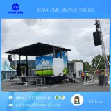 9 m outdoor roadshow mobile stage traile for sale