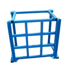 Factory direct foldable heavy-duty stacker inverted disassembly and assembly, support customized