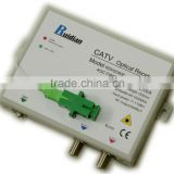 FTTH Fiber Optic CATV AGC Receiver build-in Filter/CATV optical receiver module