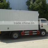 Factory low price 4x2 used refrigerated van and truck, 3ton refrigerated cold room van truck