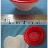 56mm plastic screw cap / plastic spout / twist off cap for brake fluid manufacture China