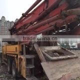 used good-condition concrete pump truck Putzmerister 37m /Sany Schwinging Zoomlion for sale