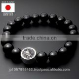 High quality and Luxury gemstone beads bracelet with Stylish made in Japan
