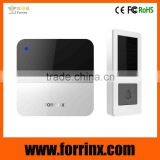 waterproof door bell no battery wireless doorbell flashing light doorbell without battery