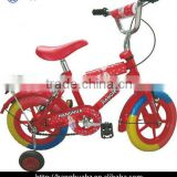 HH-K1256 12 inch eva bmx children bicycle with colorful tire
