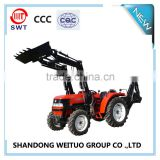 WEITUO bran tractor mounted front loader and back hoe