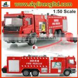 3C authentication 1:50 scale fire rescue alloy die cast car, die cast model toy for kids