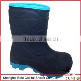 Warming kid pvc shoes /rain boots for children/Winter shoes