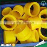Engineering plastic injection molded customed durable pu polyurethane tube pu rubber bushing                                                                         Quality Choice