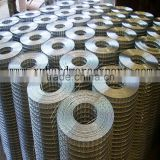 2016 Xingpeng New 25mm holes 1mm galvanized wire 1m * 25m rolls Galvanized/PVC coated Welded Wire Mesh