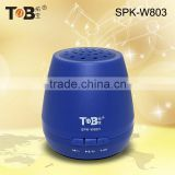 Hot new products for 2015 wireless microphone portable mini speaker with USB charge FM Radio memory card