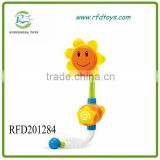 Baby Bath Shower Toys Children Sunflower Shower Faucet Bath Toy Child