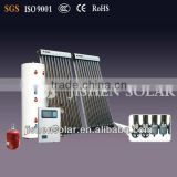 Perfect Perfornace and Quality Galvanized Steel Split Pressurized Solar Boiler With Heat Pipe Vacuum Tube