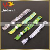 New custom fancy items knitted fabric wristband for Music festival                                                                         Quality Choice