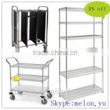 CE Adjustable Utility Metal Wire Rack used for Hotel,Household,Warehouse,Restaurant and Supermaket