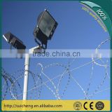 Guangzhou factory Free Samples Galvanized Razor Fences For Kenya Market