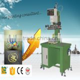 alibaba express Pneumatic hot Stamping Machine TC-200 for golf ball bat ,tennis bat,ping-pong bat,soccer gold logo