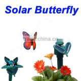 toy solar butterfly solar Power butterfly solar flying butterfly