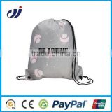 2015 Hot with high quality small cloth drawstring bag/small fabric drawstring bags/printing drawstring bags