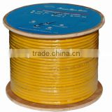 with drain wire SFTP PVC 4*2* 0.57BC & CCA FTP CAT6 cable pass test 305M braiding cable