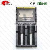 Nitecore D2 Charger 100% original charger NiMh NiCd AA AAA battery charger,nitecore 18650battery charger and charger Nitecore d2