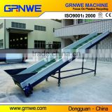 High efficiency plastic recycling belt conveyor with magnet