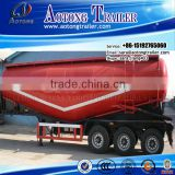 Factory supplier 3 axle 60m3 bulk cement tanker semi trailer / tank truck trailer for sale