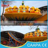Theme park attractions!!amusement equipment thrilling&rotating ride flying UFO flying disc ride