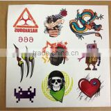 Customized lovely designs temporary worldwide tattoo supply for women