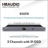 Digital graphic equalizer with high quality and purity
