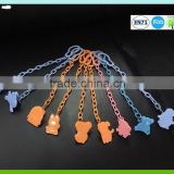 2016 funny new design plastic baby pacifier chain baby clip accessory