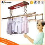 New arrival homecare hardware balcony ceiling mounted electric clothes drying rack, remote control clothes dryer rack