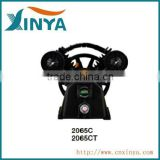 XINYA C-type mini small double cylinder electric ac piston belt-driven air compressor part compressor head air pump(2065CT)